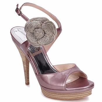 Schoenen Dames Sandalen / Open schoenen Fericelli MINKA Vernice / Cipria