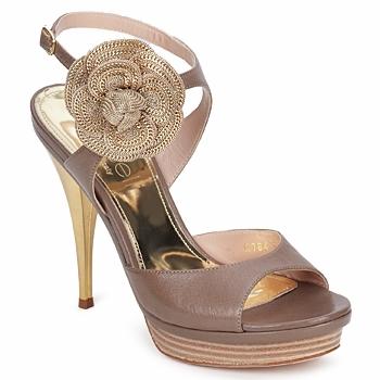 Schoenen Dames Sandalen / Open schoenen Fericelli MINKA Capretto / Tortora