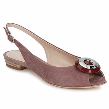 Schoenen Dames Sandalen / Open schoenen Fericelli PITOUCLI Camoscio / Malva