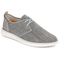 Schoenen Heren Lage sneakers Clarks MZT Freedom Grey / Canvas