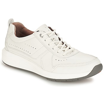 Schoenen Heren Lage sneakers Clarks Un Coast Form Wit / Leather
