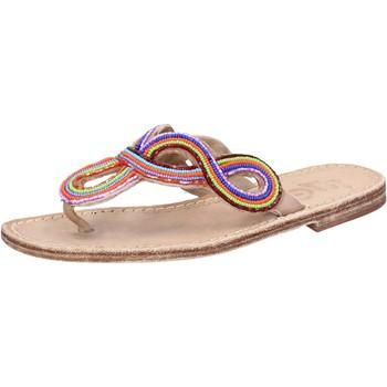 Schoenen Dames Sandalen / Open schoenen Eddy Daniele AX895 Multicolor