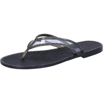 Schoenen Dames Sandalen / Open schoenen Eddy Daniele AW682 Gris