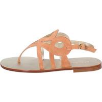 Schoenen Dames Sandalen / Open schoenen Eddy Daniele AW320 Orange