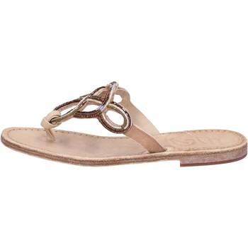 Schoenen Dames Sandalen / Open schoenen Eddy Daniele AS78 Marron