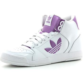 Schoenen Dames Hoge sneakers adidas Originals Midiru Court 2.0 TR Wit / Roze