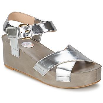 Schoenen Dames Sandalen / Open schoenen RAS NIOBE Zilver