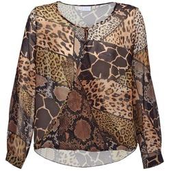 Textiel Dames Tops / Blousjes Alba Moda ANINA Brown