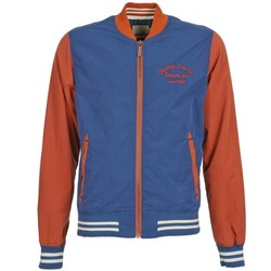 Textiel Heren Wind jackets Teddy Smith BISTHER Blauw / Ocre