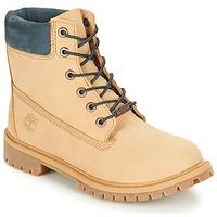 Schoenen Kinderen Laarzen Timberland 6 In Premium WP Boot Iced / Koffie