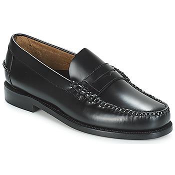 Schoenen Heren Mocassins Sebago CLASSIC PENNY BRUSHED Zwart