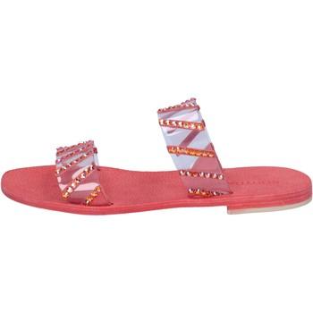 Schoenen Dames Sandalen / Open schoenen Eddy Daniele AW463 Rouge
