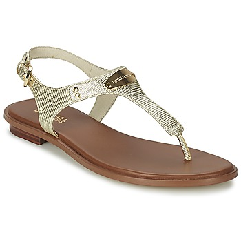 Schoenen Dames Sandalen / Open schoenen MICHAEL Michael Kors MK PLATE Goud