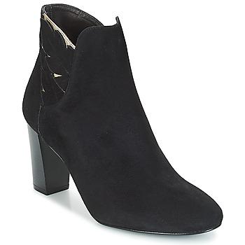 Schoenen Dames Enkellaarzen Bocage EMMANUEL Zwart