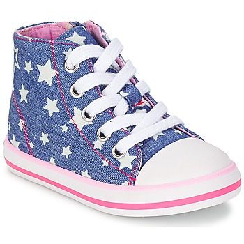 Schoenen Meisjes Hoge sneakers Chicco CREMIXI Denim / Etoile