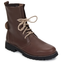 Schoenen Dames Laarzen Swamp BIKE Brown