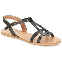 Schoenen Dames Sandalen / Open schoenen So Size DURAN Zwart