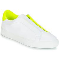 Schoenen Dames Lage sneakers KLOM KISS Wit / Geel