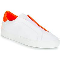 Schoenen Dames Lage sneakers KLOM KISS Wit / Orange