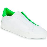 Schoenen Dames Lage sneakers KLOM KISS Wit / Groen