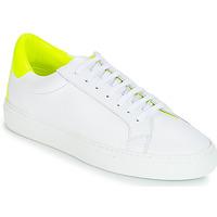 Schoenen Dames Lage sneakers KLOM KEEP Wit / Geel