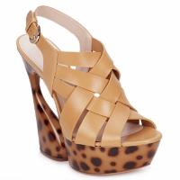 Schoenen Dames Sandalen / Open schoenen Casadei MAGGY Zoet / Natuur