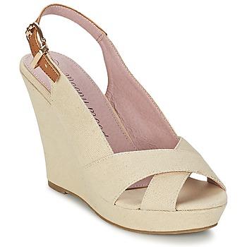 Schoenen Dames Sandalen / Open schoenen Moony Mood AKOLM Beige