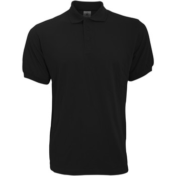 Textiel Heren Polo's korte mouwen B And C Safran Zwart