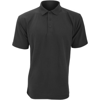 Textiel Heren Polo's korte mouwen Ultimate Clothing Collection UCC003 Zwart
