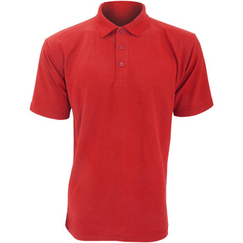 Textiel Heren Polo's korte mouwen Ultimate Clothing Collection UCC003 Rood