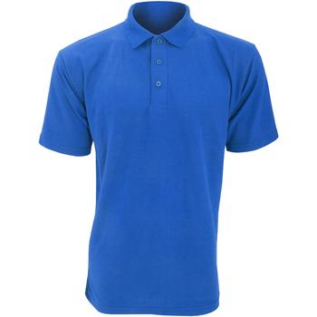 Textiel Heren Polo's korte mouwen Ultimate Clothing Collection UCC003 Koninklijk