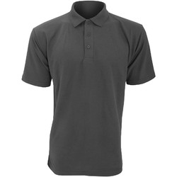 Textiel Heren Polo's korte mouwen Ultimate Clothing Collection UCC003 Houtskool
