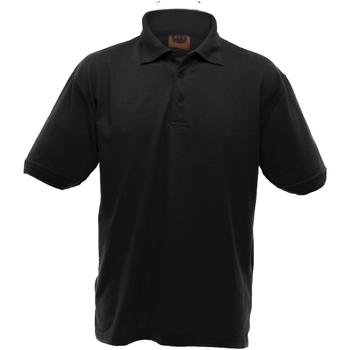 Textiel Heren Polo's korte mouwen Ultimate Clothing Collection UCC004 Zwart