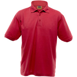 Textiel Heren Polo's korte mouwen Ultimate Clothing Collection Pique Rood