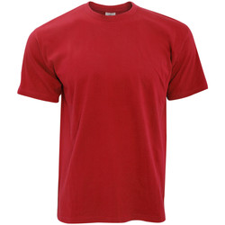 Textiel Heren T-shirts korte mouwen B And C Exact 190 Rood