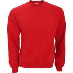 Textiel Heren Sweaters / Sweatshirts B And C WUI20 Rood