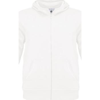 Textiel Heren Sweaters / Sweatshirts B And C Monster Wit