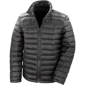 Textiel Heren Dons gevoerde jassen Result Windproof Zwart