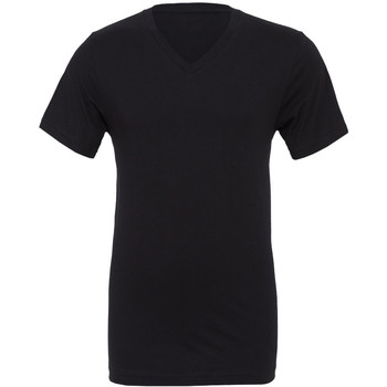 Textiel Heren T-shirts korte mouwen Bella + Canvas Jersey Zwart