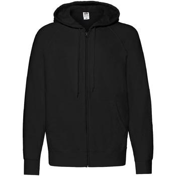 Textiel Heren Sweaters / Sweatshirts Fruit Of The Loom 62144 Zwart