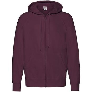 Textiel Heren Sweaters / Sweatshirts Fruit Of The Loom 62144 Bordeaux