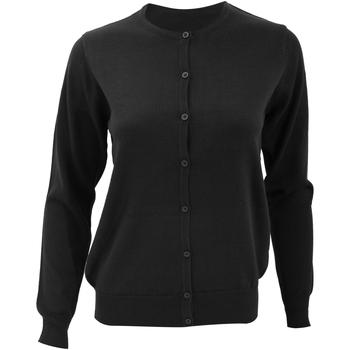 Textiel Dames Vesten / Cardigans Kustom Kit Knit Zwart