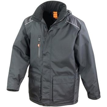 Textiel Heren Windjacken Result R305X Zwart