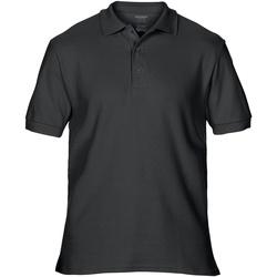 Textiel Heren Polo's korte mouwen Gildan Premium Zwart
