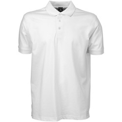 Textiel Heren Polo's korte mouwen Tee Jays Stretch Wit