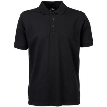 Textiel Heren Polo's korte mouwen Tee Jays Stretch Zwart