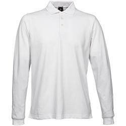 Textiel Heren Polo's lange mouwen Tee Jays TJ1406 Wit