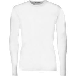 Textiel Heren T-shirts met lange mouwen Tee Jays TJ530 Wit