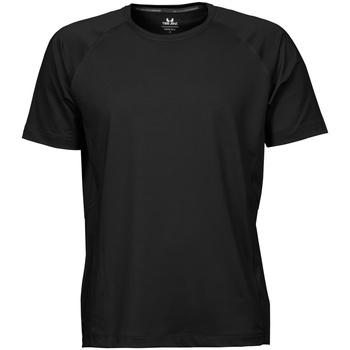 Textiel Heren T-shirts korte mouwen Tee Jays Cool Dry Zwart