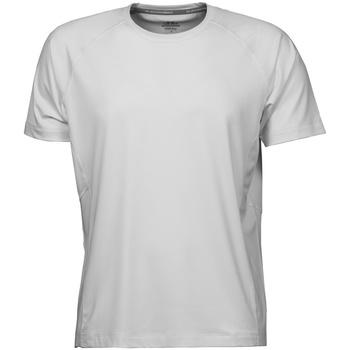 Textiel Heren T-shirts korte mouwen Tee Jays Cool Dry Wit